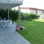 Terrace ccess to garden